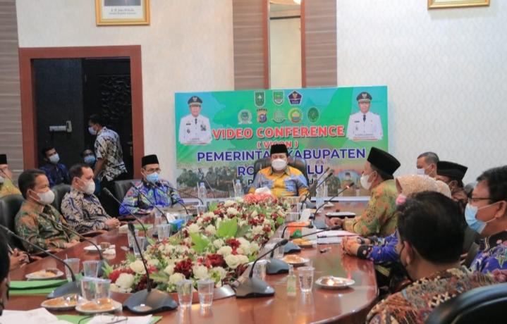 Bupati H. Sukiman Silaturrahmi Dengan Pengurus KTNA Kabupaten Rohul