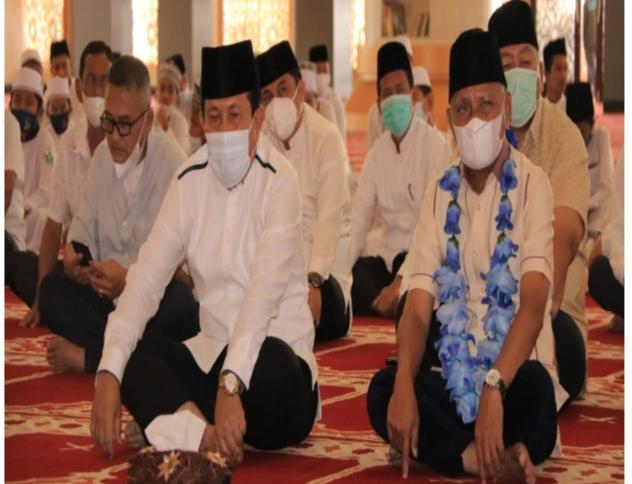 Bupati Rohul Mendapat Kunjungan Kehormatan Dari Bupati Asahan