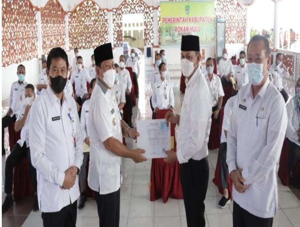 Bupati-Wakil Bupati Rohul Gelar Rapat Perdana Dengan OPD Dan Direktur RSUD