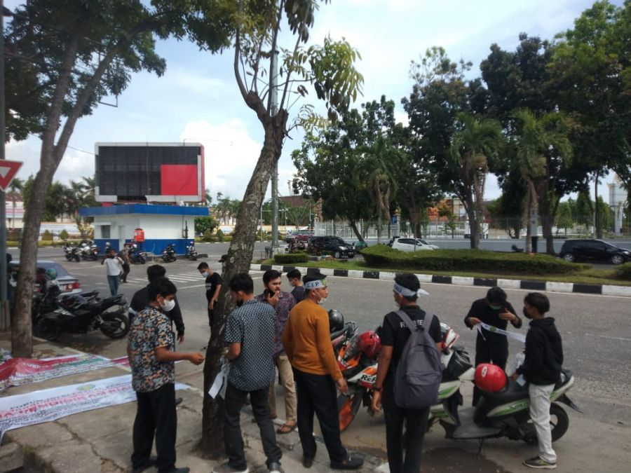 Gelar Aksi, FIPR Meminta Polda Usut Tuntas Penggelapan Dana Kampus UPP