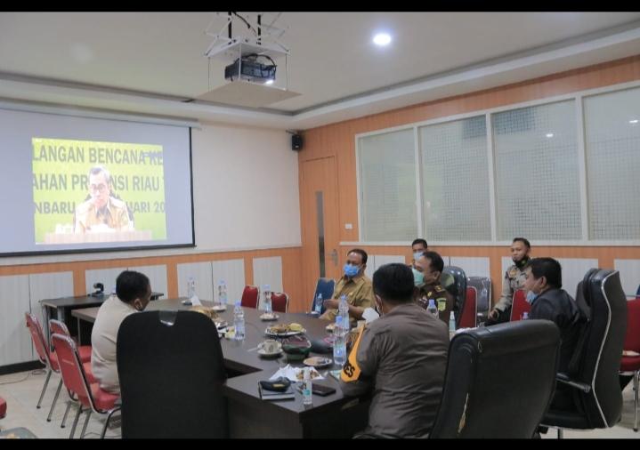 Gubri Akui Riau Termasuk Salah Satu Rawan Bencana Karhutla Dan Asap