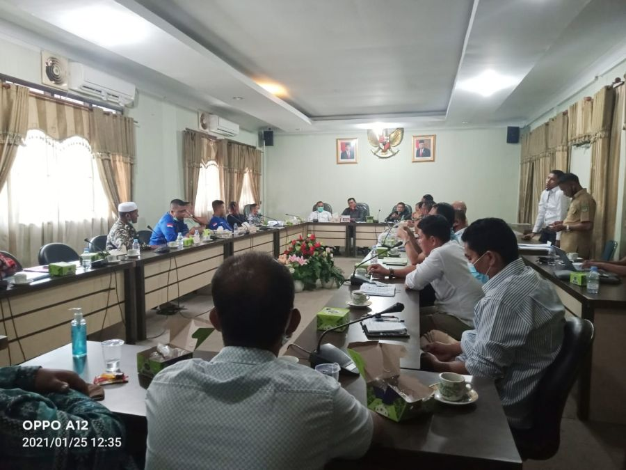 Hearing Tiga Desa Dengan PT Hutahean Terkait Lahan Seluas 825 H, Dikuasai PT Hutahaean