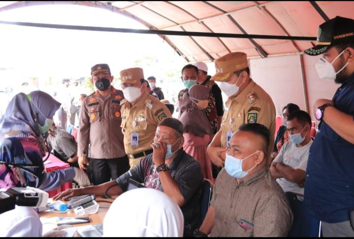 H.Sukiman Berharap Rekan Media Menyajikan Informasi Yang Valid Tentang Vaksinasi