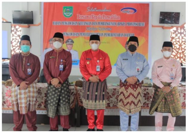 Pemkab Rohul Jalin Kerja Sama Dengan BPKP Perwakilan Riau