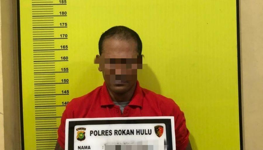 Polres Rohul Kembali Mengamankan Satu Orang Tindak Pidana Pelaku Narkoba