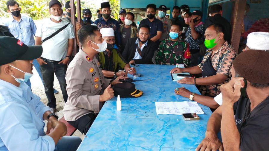Polres Rohul Tempuh Jalan Mediasi Sengketa Kepengurusan Koperasi Sawit Karya Bhakti