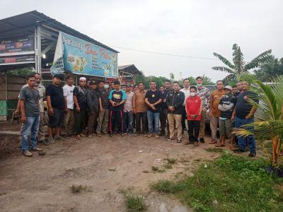 Diskoptransnaker Tinjau Lokasi Lahan Kopertim, Anggota Kopertim Minta SK Damanhuri Diterbitkan