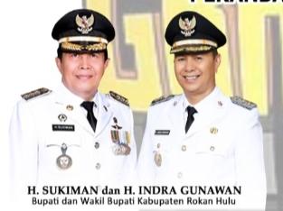 H-Sukiman-H.Indra Gunawan Ukir Sejarah Pilkada Rohul Tahun 2020