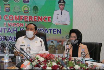 Peringati HGK PKK Tingkat Provinsi Riau, Ketua TP PKK Rohul Gelar Rakor Dengan Kepala OPD Terkait