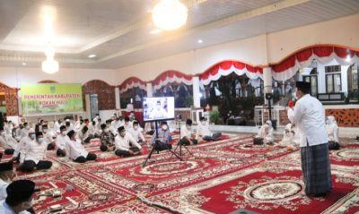 Peringati Tahun Baru Islam, Pemkab Rohul Gelar Do,a & Zikir Bersama Secara Virtual