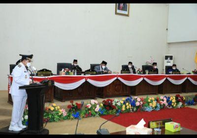 Pidato Perdana Bupati-Wakil Bupati Rohul Dalam Paripurna DPRD