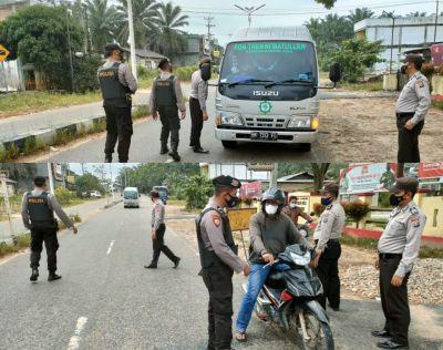 Polres Rohul & Polsek Jajaran Giat Melaksanakan Ops.Cipkon KRYD