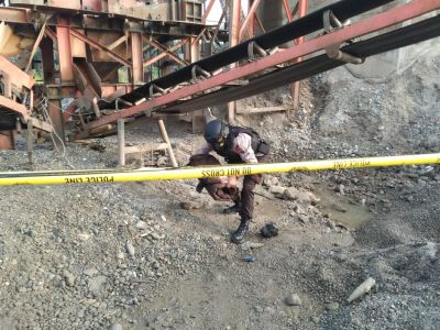 Satu Buah Granat Nenas Ditemukan Di Areal PT. IPB Desa Koto Intan